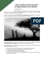 Fátima_Blog'ForosDeLaVirgen'_LA GUERRA DE LA MASONERÍA CONTRA FÁTIMA_13DeMayoDe2017.docx