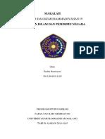 Islam Dan Pemimpin Negara