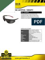 Lente Msa Stone Antifog 1680afc (1)