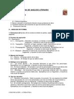 Ficha de Análisis Literario