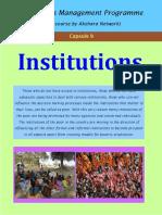 1.2 Institutions