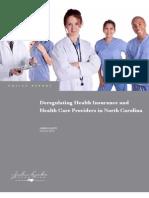 HealthDeregulationinNC