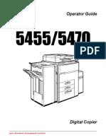 Lanier Lanier All in One Printer 5470