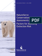 NatureServe Conservation Status Assessments Factors for Assessing Extinction Risk