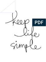 Keep Life Simple2