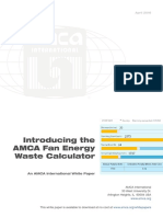 Introducing Fan Energy Waste Calculator