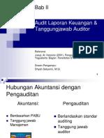 2. Audit Laporan Keuangan & Tanggungjawab Auditor