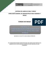 Ficha Técnica de Información de Idea de Proyecto Para Financiamiento de Perfil – Fondo Mi Riego.