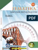 buku paket smp 8 Matematika semester 1 KTSP