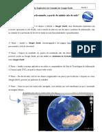 Anexo I - Guião Explicativo de Consulta Google Earth