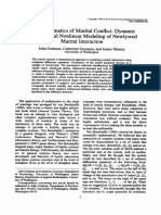 The Mathematics of Marital Conflict Dynamic Mathematical Nonlinear Modeling of Newlywed Marital Interaction