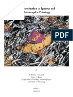 An Introduction to Igneous and Metamorphic Petrology- Frost and Frost