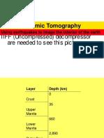 Seismic Tomography11