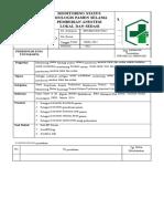 7.7.1.4 SPO Monitoring Status Fisiologi Pasien Selama Pemberian Anestesi Dan Sedasi
