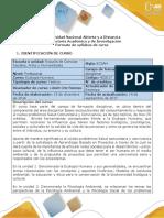 Syllabus Del Curso Ecología Humana