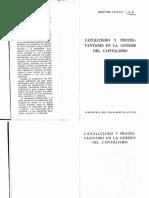 Catolicismo y protestantismo en la génesis del capitalismo - Amintore Fanfani.pdf