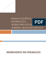 Farmacocinética Distribución