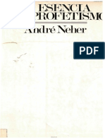 Andre Neher La Esencia Del Profetismo PDF
