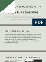 Struktur Dan Konstruksi IV Struktur Pelengkung