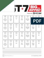 Fst-7 Big and Ripped Calendar jeremy