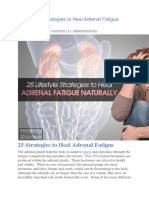 25 Lifestyle Strategies to Heal Adrenal Fatigue Naturally