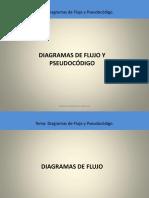 Pseudocodigo y Diagrama de Flujo - Ing Hernan upds