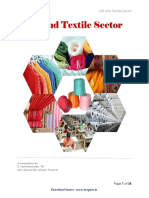 GST and Textitle Sector