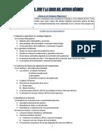 Unidad 2 Antiguo Regimen, Tema Resumen
