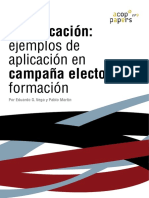 Gamificación en la Comunicación Política - Vega y Martín