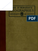 Geography of Science 1905