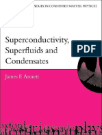 Annett - Superconductivity, Superfluids, And Condenstates