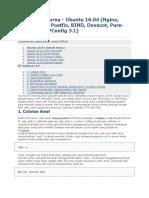 The Perfect Server - Ubuntu 16.04 (Nginx, MySQL, PHP, Postfix, BIND, Dovecot, Pure-FTPD and ISPConfig 3.1)