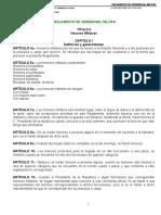 01 Reglamento Del Ceremonial Militar Dof 14-09-1995