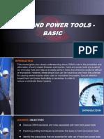 OSHA 10 Slides 10 - Hand and Power Tools