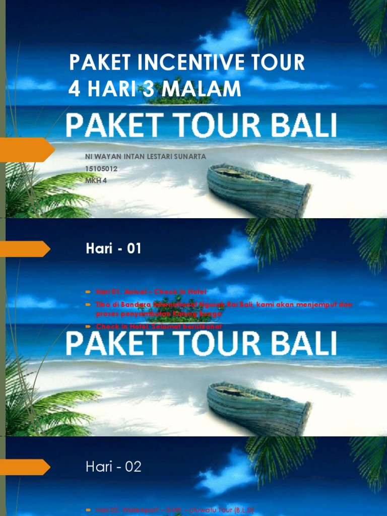 Paket Incentive Tour Watersports Tanjung Benoa Bali Include Lunch