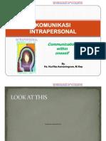 komunikasi intrapersonal 2011