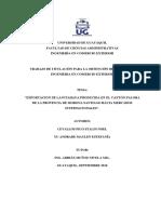 Proyecto de Investigacion Exportacion de Pitahaya Desde Canton Exportacion