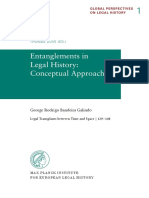 Entanglements in Legal History- Conceptual Approaches