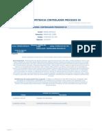 Perfil Competencia Controlador Procesos Sx