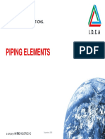 Piping Elements