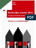 Gemeente Amsterdam Bestuurlijke Monitor Prostitutie Programma 2013