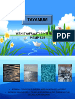 tayamum step by step