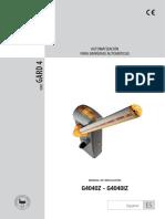 KX-BG-GA Manual de Instalación
