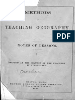 Methods of Teaching Geography 1883