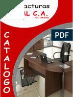 Catalogo Manofacturas Goal Mobiliario