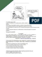 Exemplo de Prova Em Espanhol
