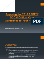 ASPEN Critical Care- Susan Brantley