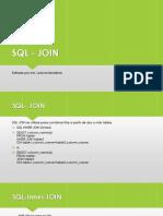 SQL - JOIN