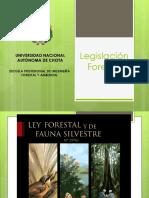 1. Legislación Forestal