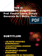 Patriotism Si Integra Re European A
